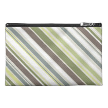Woodland Colors Nature Pattern Travel Accessory Bag at Zazzle