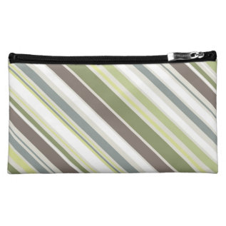 Woodland Colors Nature Pattern Cosmetic Bag at Zazzle