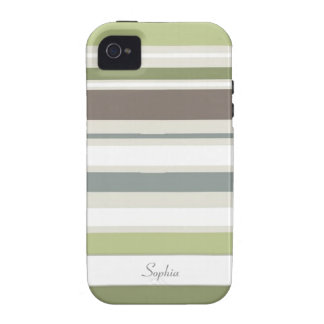 Woodland Colors Nature Pattern iPhone 4/4S Vibe iPhone 4/4S Cover