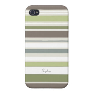 Woodland Colors Nature Pattern iPhone 4 Case