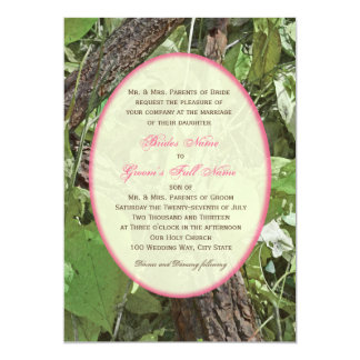 Woodland Country Wedding 5x7 Paper Invitation Card