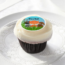 Woodland Creatures Edible Cupcake Topper Edible Frosting Rounds