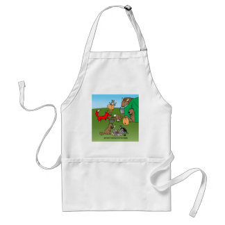 Woodland Critters Adult Apron