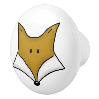 Woodland Critters-Best Forest Friends-Fox Ceramic Knob