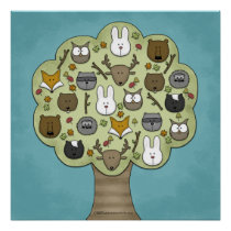 Woodland Critters-Best Forest Friends Poster