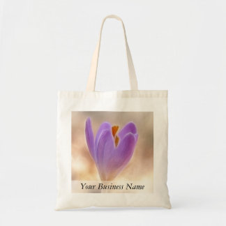 Woodland Crocus Bud Canvas Bags