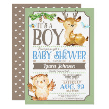 Owl baby shower invitations announcements zazzle filmwisefo Image collections