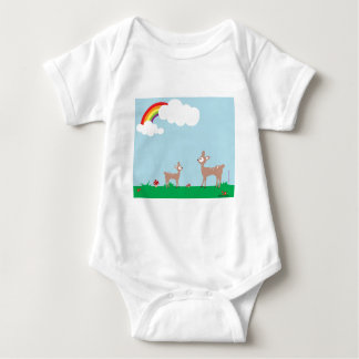 Woodland Deer Baby Bodysuit