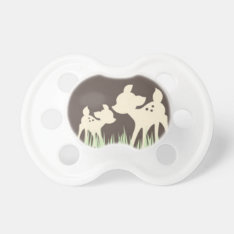 Woodland Deer Pacifier at Zazzle
