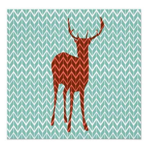Woodland Deer Photography Print Photograph
