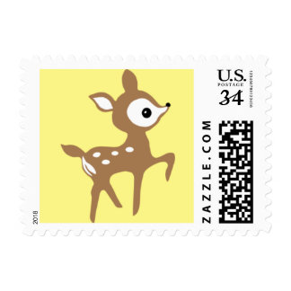 Woodland Deer Stamp