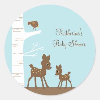 Woodland Deer Stickers Stickers