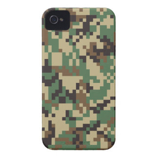 Woodland Digital Camouflage iPhone 4 Case-Mate Cases