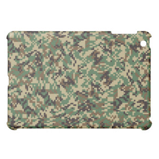 Woodland Digital Camouflage iPad Mini Case