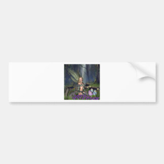 Woodland Easter Egg Fairy Bumper Stickers