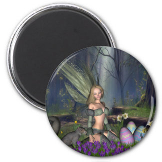 Woodland Easter Egg Fairy Magnet