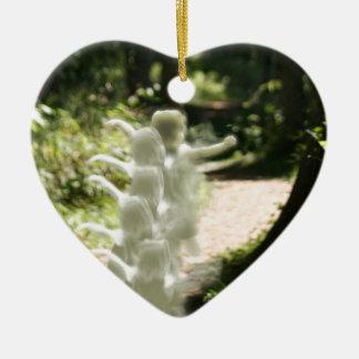 Woodland Fairies Ceramic Ornament
