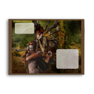 Woodland Fairies Envelope