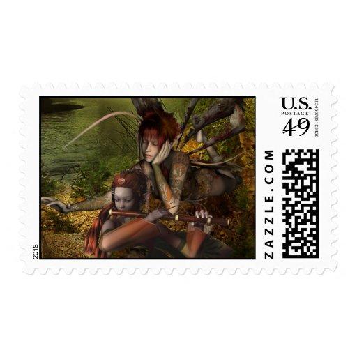 Woodland Fairies Stamp