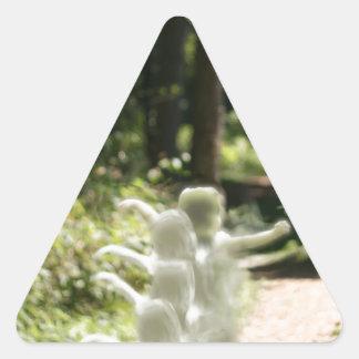 Woodland Fairies Triangle Sticker