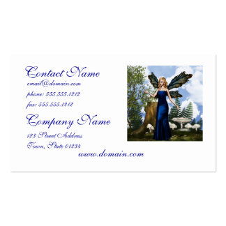 Woodland Fairy Business Cards