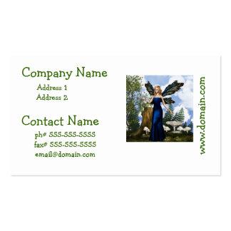 Woodland Fairy Business Card Templates