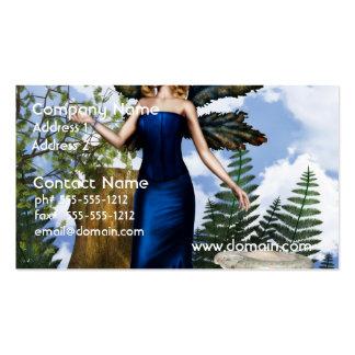 Woodland Fairy Business Card Template