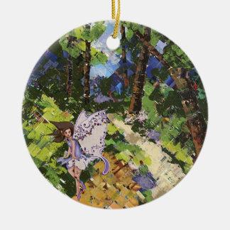 Woodland Fairy Dance Ornament