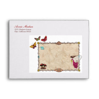 Woodland Fairy Party Personalized Envelope