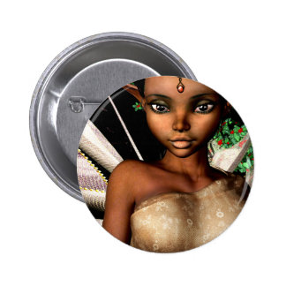 Woodland Fairy Pinback Buttons