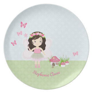 Woodland Fairy Princess Dinner Plate
