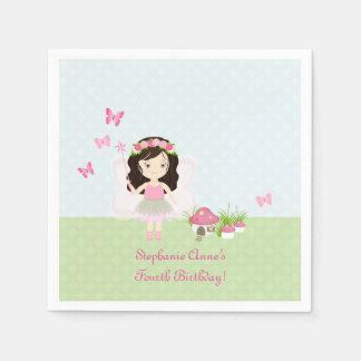 Woodland Fairy Princess Napkin