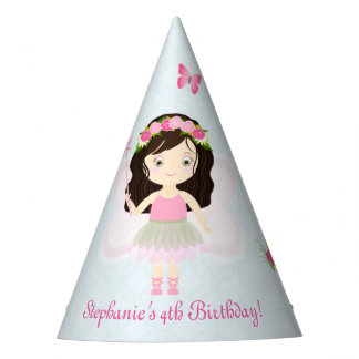 Woodland Fairy Princess Party Hat