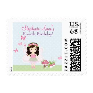 Woodland Fairy Princess Postage Stamp