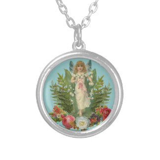 Woodland Fairy Silver Plated Necklace