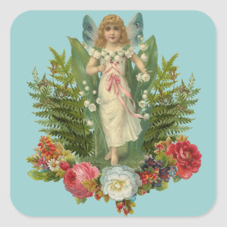 Woodland Fairy Square Sticker
