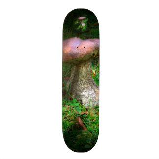 Woodland Fairy Toadstool / Mushroom Skateboard