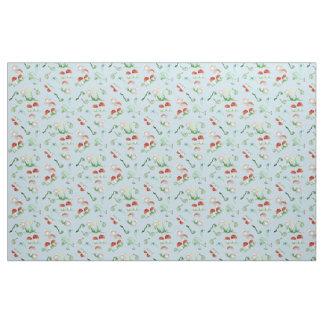 Woodland animal nursery fabric zazzle for Boy nursery fabric
