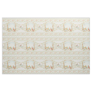 Woodland Fairytale Creatures Baby Boy Nursery Fabric