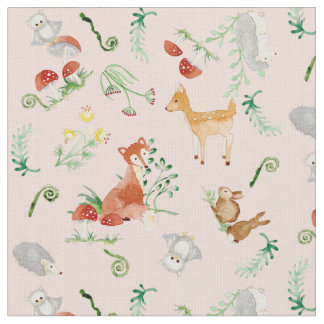 Fabric for upholstery quilting crafts zazzle for Baby girl fabric