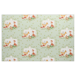 Woodland fairy tale fairytale gifts on zazzle for Baby nursery fabric