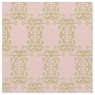 Woodland Fairytale Vine Swirl Baby Girl Nursery Fabric
