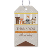 Woodland Fall / Winter Baby Shower Thank You Gift Tags