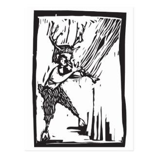 Woodland Faun Post Cards