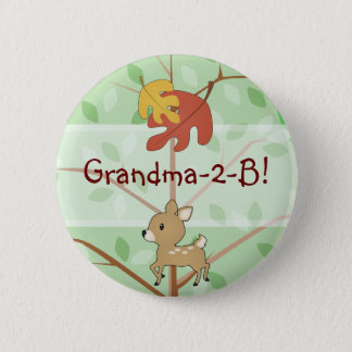 Woodland Fawn Button