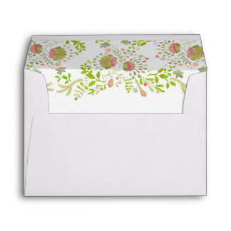Woodland Florals Whimsical Envelopes