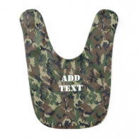 Woodland Forest Military Camouflage Bibs