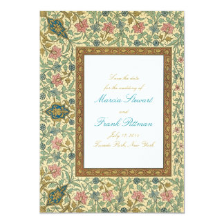 Woodland forest Save the Date Card