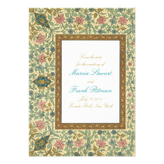 Woodland forest Save the Date Personalized Invitations