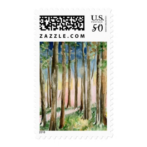 Woodland Forest Stamp
